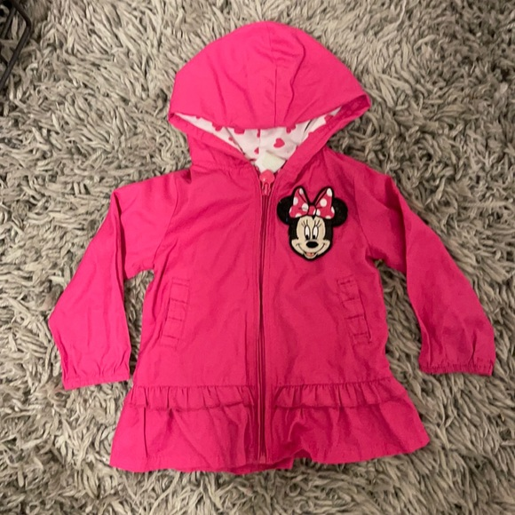 Disney baby Minnie Mouse wind breaker 12 month